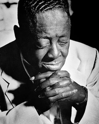 Art Tatum, Los Angeles, 1955. Herman Leonard