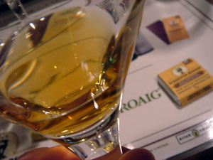 Chocolate + Whisky Tasting at WhiskyFest 2007