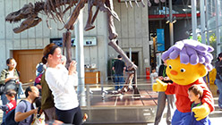 Sid the Science Kid at California Academy of Sciences