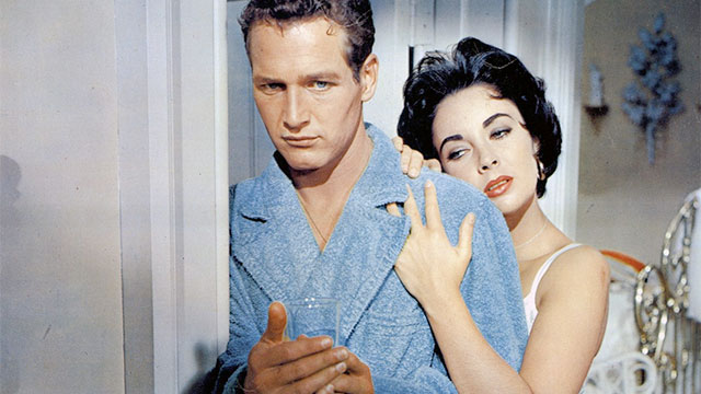 Paul Newman and Elizabeth Taylor