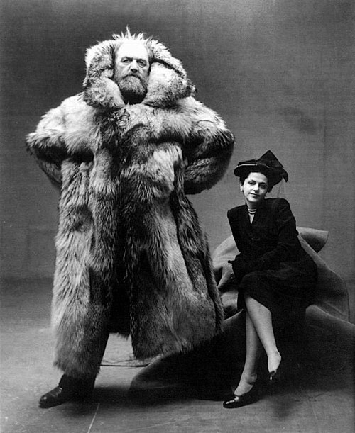 An Intriguing Thing (or 2): Arctic explorer Peter Freuchen and his third wife, fashion illustrator, Dagmar Cohn (later Dagmar Freuchen-Gale)