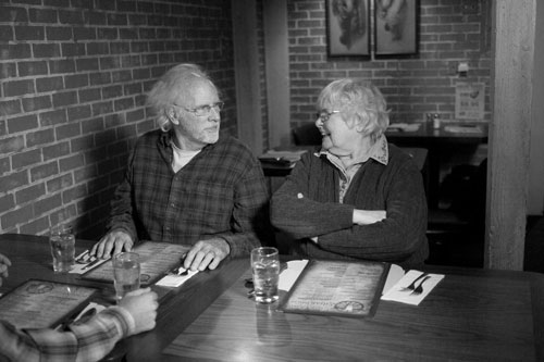 June Squibb and Bruce Dern in Nebraska