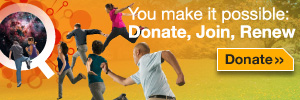 You make it possible: Donate, join, renew